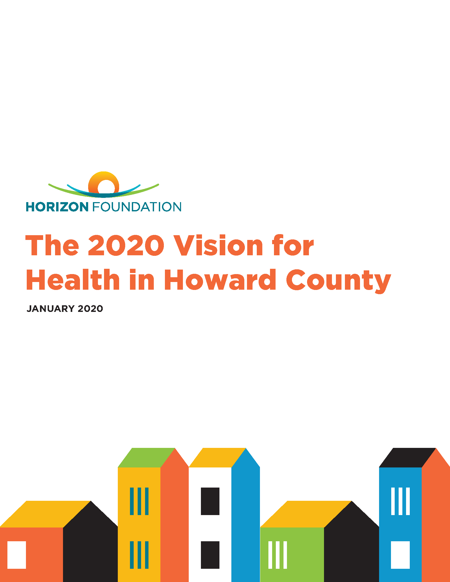 2020 Vision for Health Horizon Foundation Report FINAL2 pages 002 Page 01