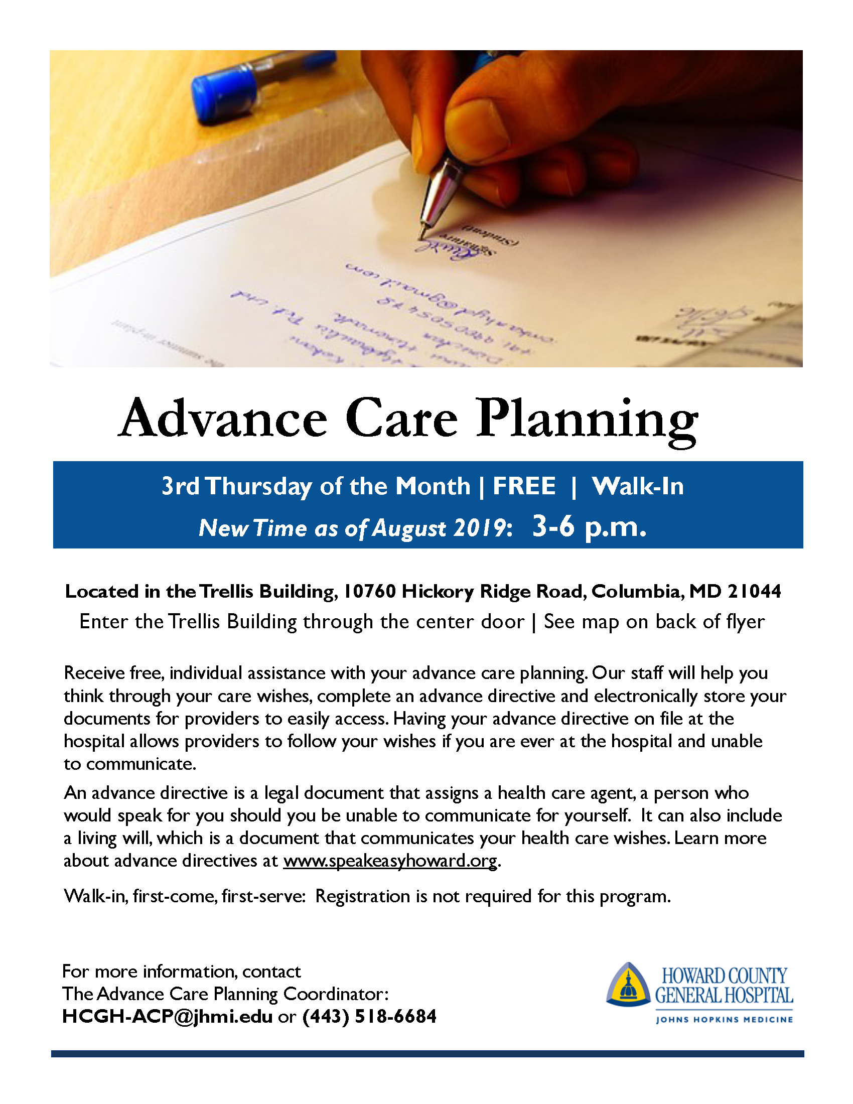 REVISED HCGH Advance Care Planning Office Hours 002