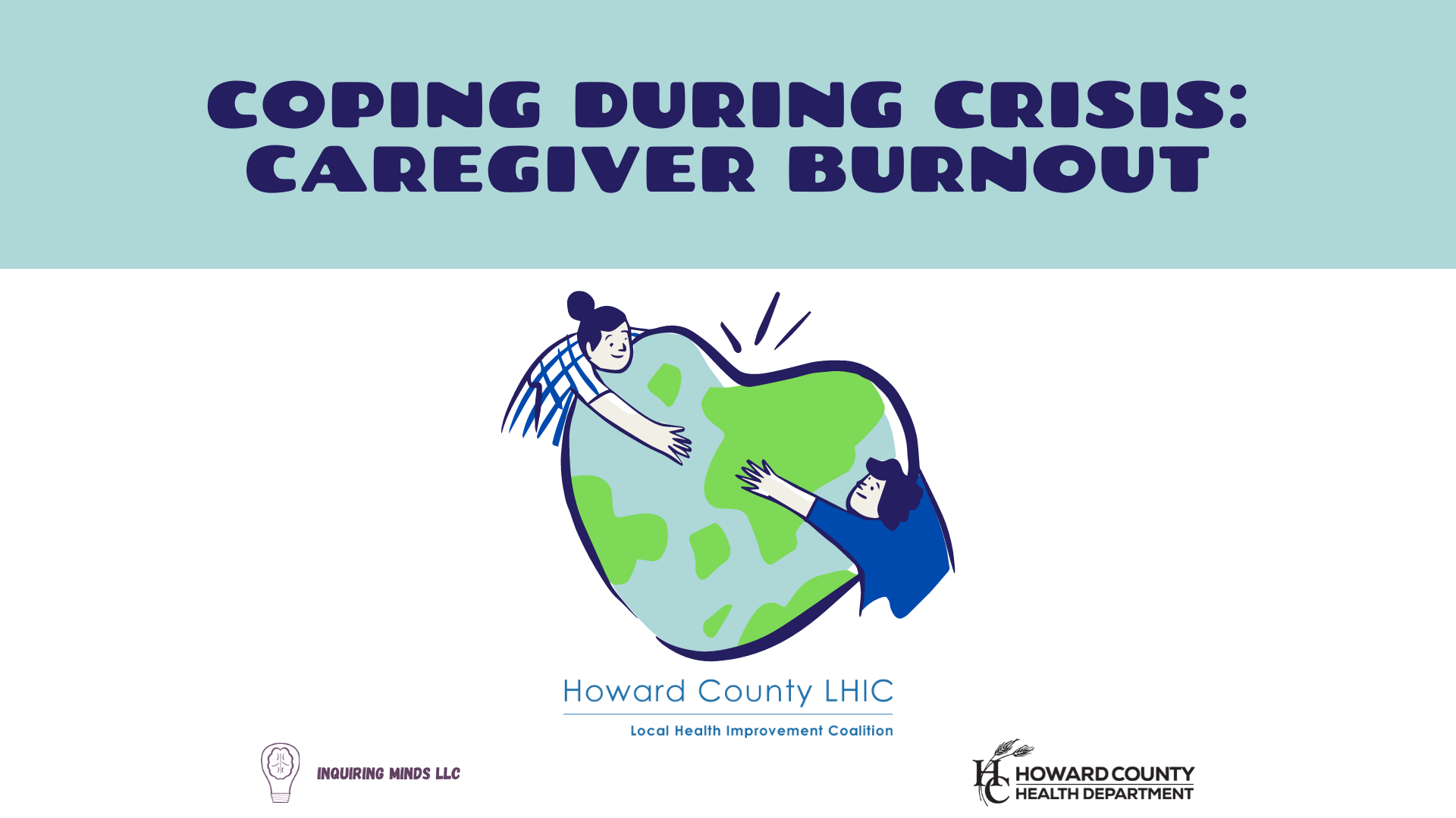 Webinar Title Slide Caregiver Burnout