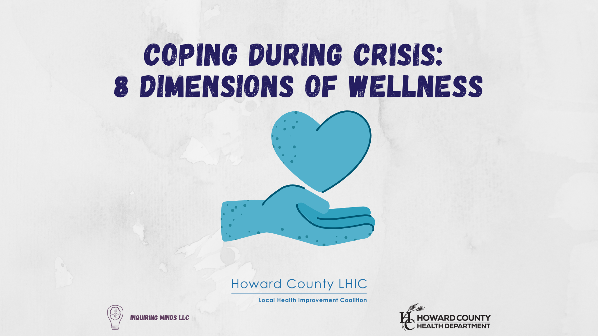 Webinar Title Slide 8 Dimensions of Wellness