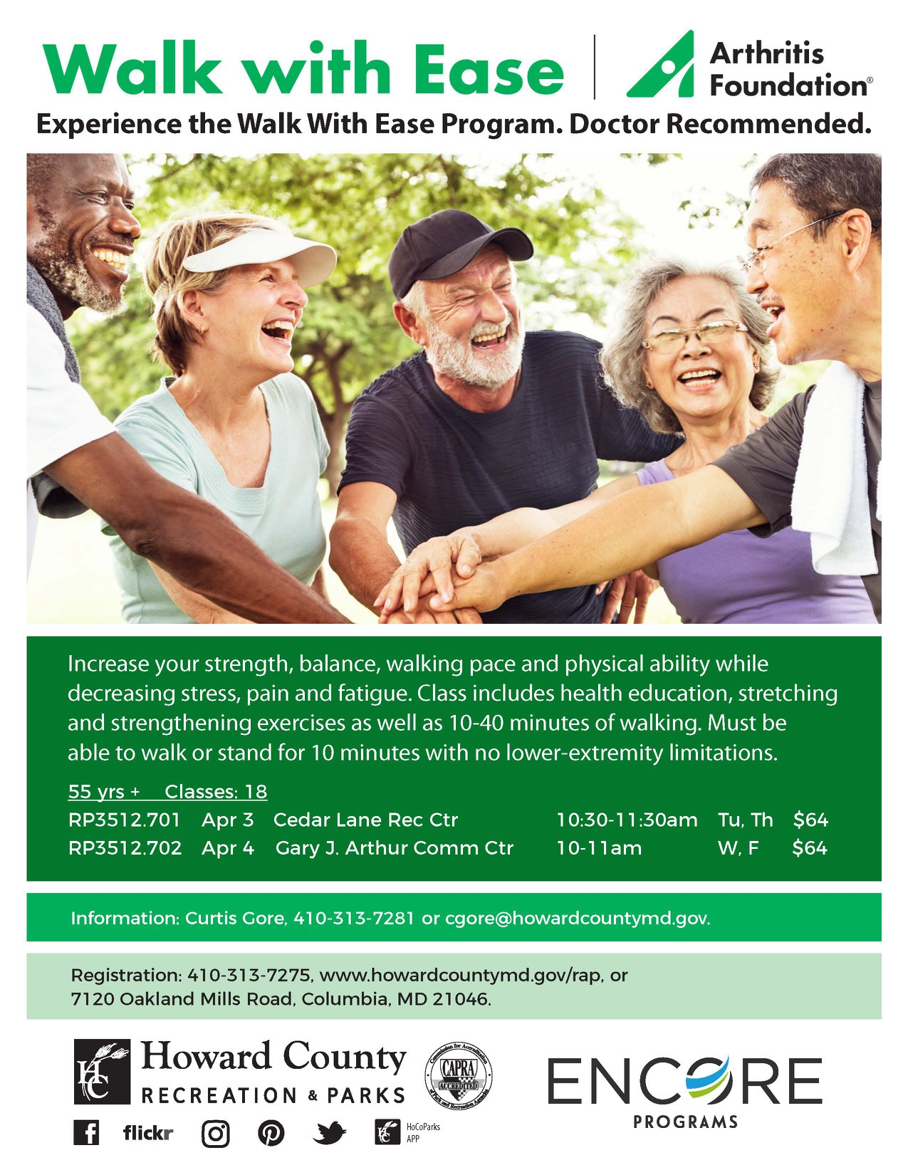 Arthritis Walk with Ease Program